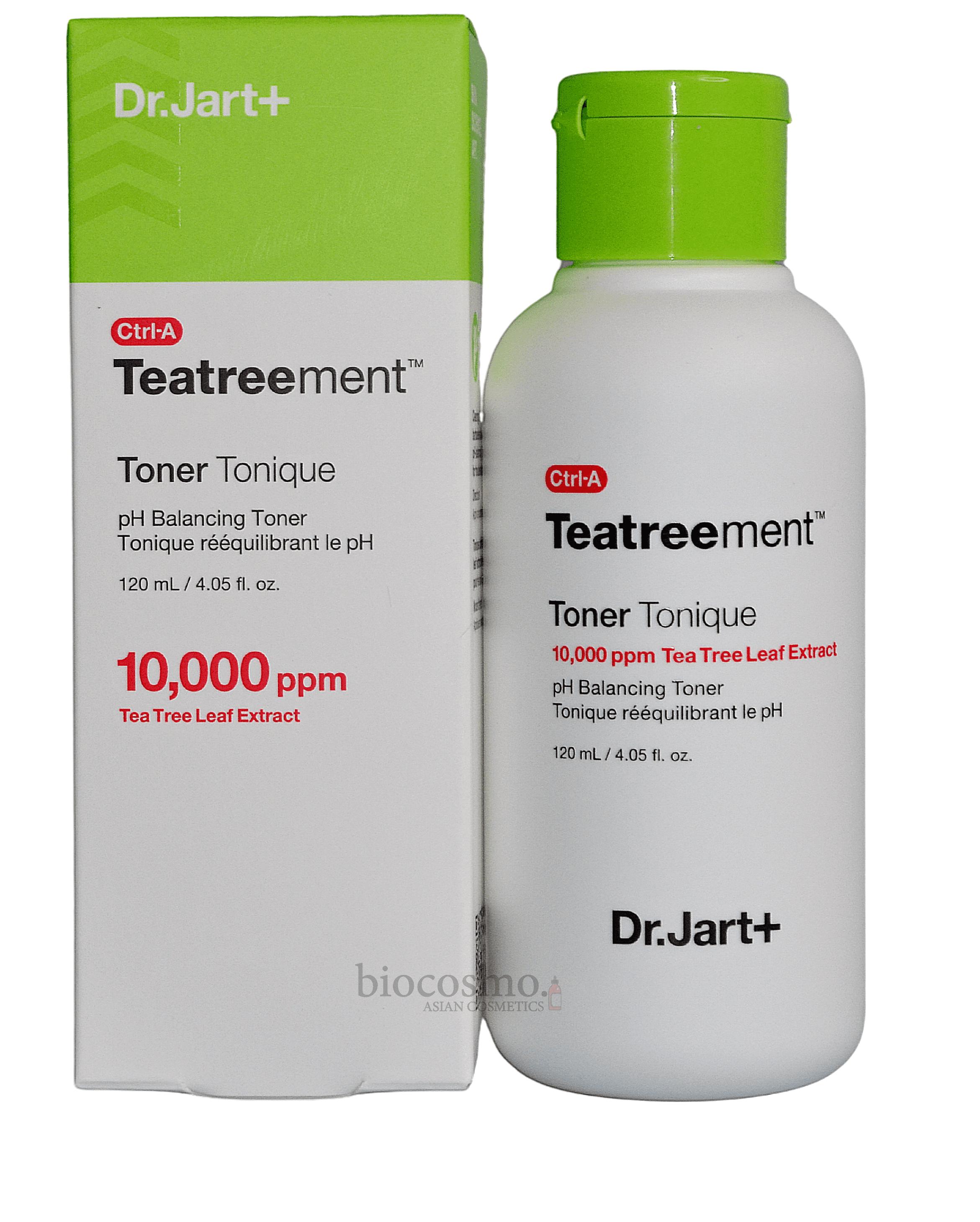Тонер для лица с чайным деревом Dr.Jart+ Ctrl-A Teatreement Toner Tonique - 120 мл
