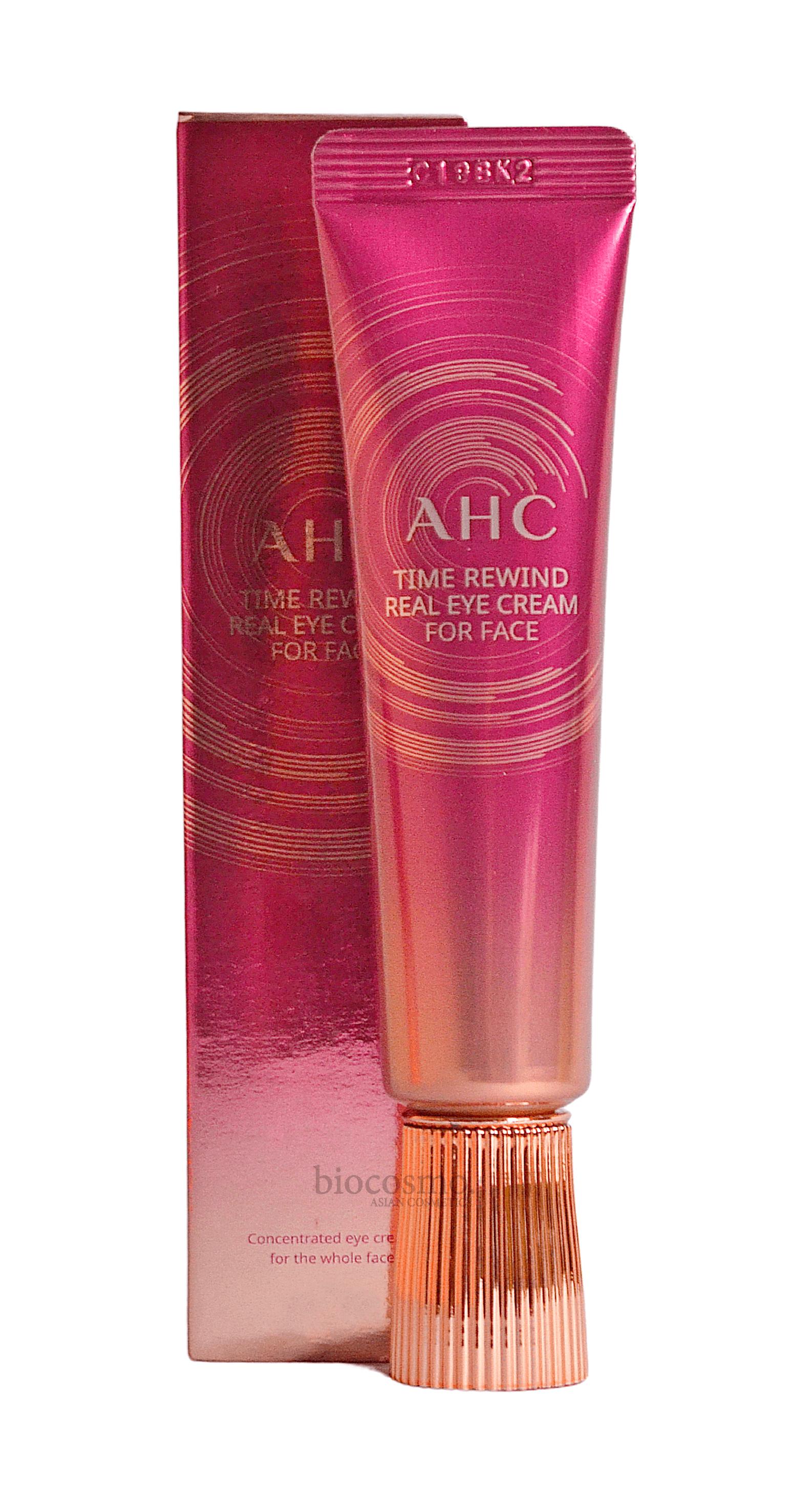 Антивозрастной крем для кожи вокруг глаз с пептидами AHC Time Rewind Real Eye Cream For Face - 30 мл