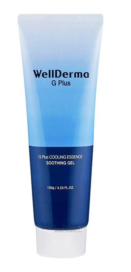 Охлаждающий успокаивающий гель WELLDERMA G Plus Cooling Essence Soothing Gel - 120 мл
