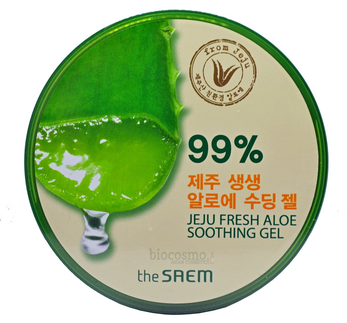 Гель для тела с алоэ The Saem Jeju Fresh Aloe Soothing Gel 99% - 300 мл