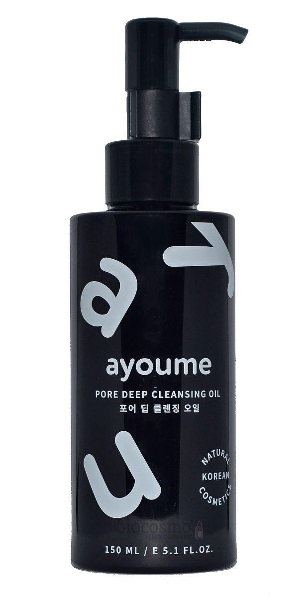 Гидрофильное масло c древесным углем Ayoume Pore Deep Cleansing Oil - 150 мл