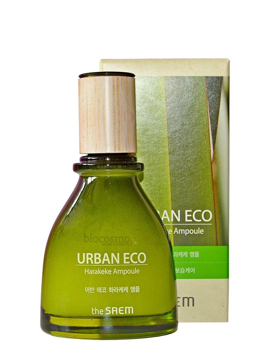 Сыворотка для лица с новозеландским льном The Saem Urban Eco Harakeke Ampoule - 45 мл