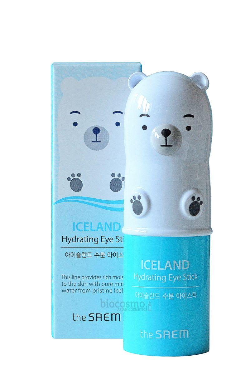 Стик для кожи вокруг глаз с ледниковой водой THE SAEM Iceland Hydrating Eye Stick - 8 гр