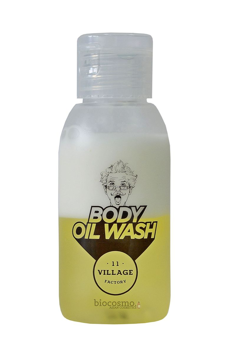 Миниатюра геля для душа Village 11 Factory Relax-day Body Oil Wash - 50 мл