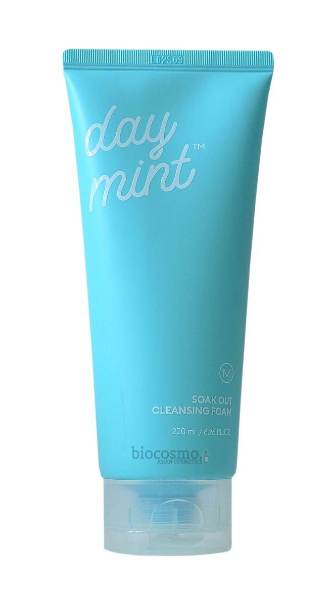 Освежающая пенка для умывания MISSHA Day Mint Soak Out Cleansing Foam - 200 мл