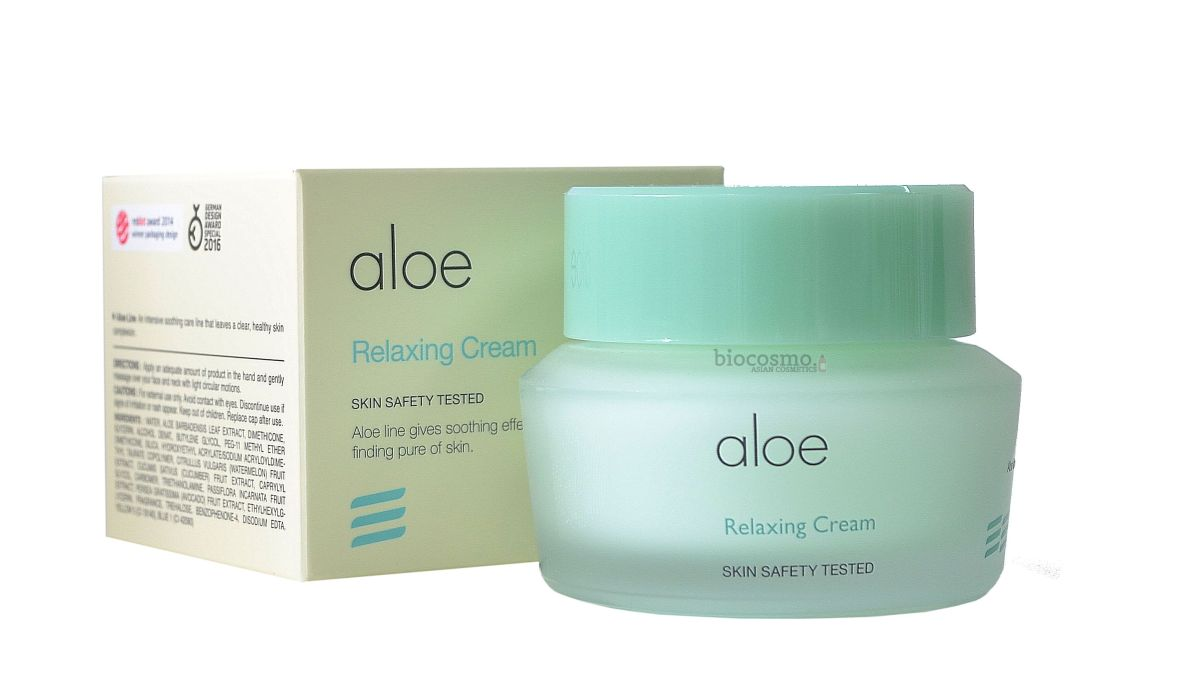 Успокаивающий крем для лица It's Skin Aloe Relaxing Cream - 50 мл