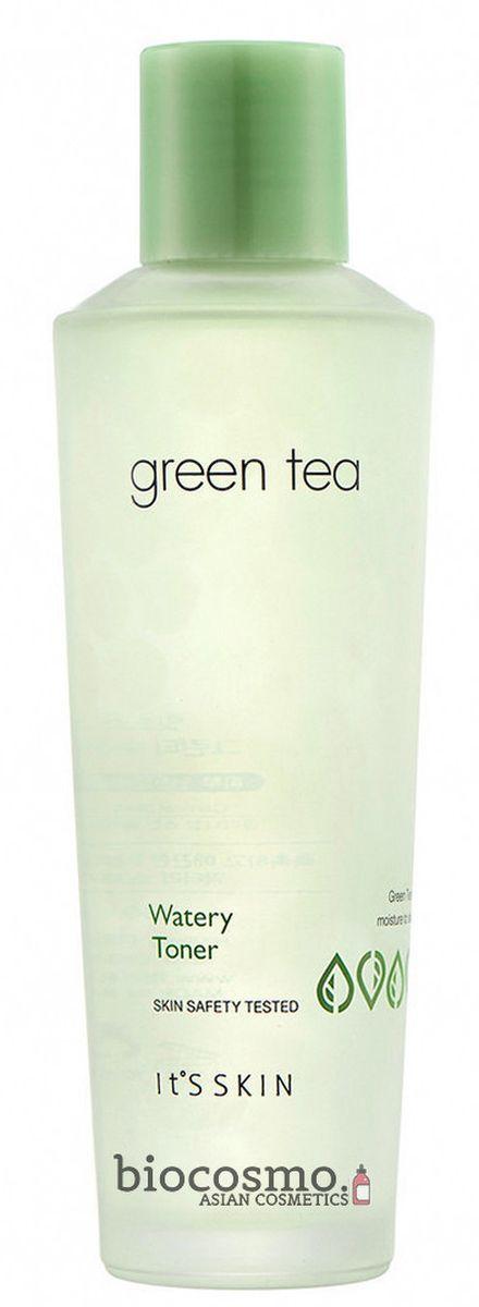 Увлажняющий тонер с зеленым чаем It's Skin Green Tea Watery Toner - 150 мл