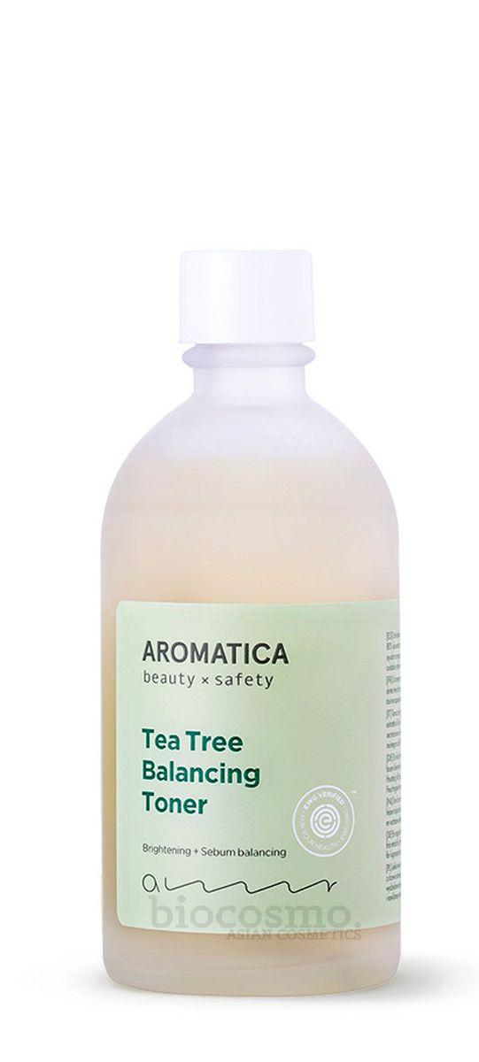 Тонер с чайным деревом AROMATICA Tea Tree Balancing Toner - 130 мл