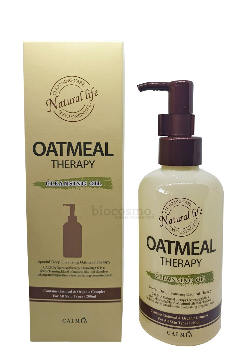Гидрофильное масло Calmia Oatmeal Therapy Cleansing Oil - 200 мл