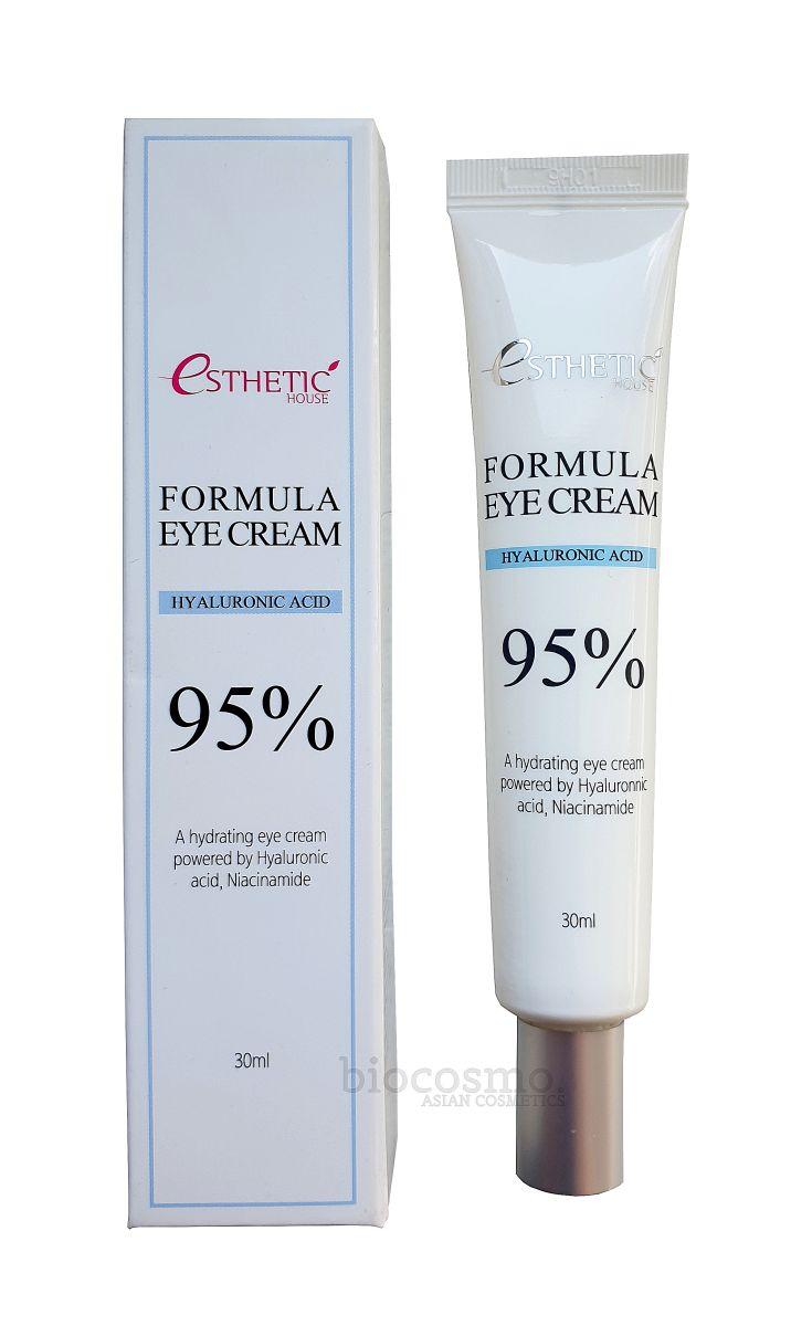 Крем для век с гиалуроновой кислотой Esthetic House Formula Eye Cream Hyaluronic Acid 95% - 30 мл