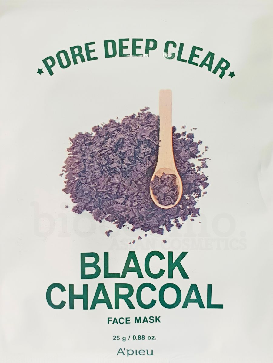 Очищающая тканевая маска для лица A'PIEU Pore Deep Clear Black Charcoal Mask - 25 гр