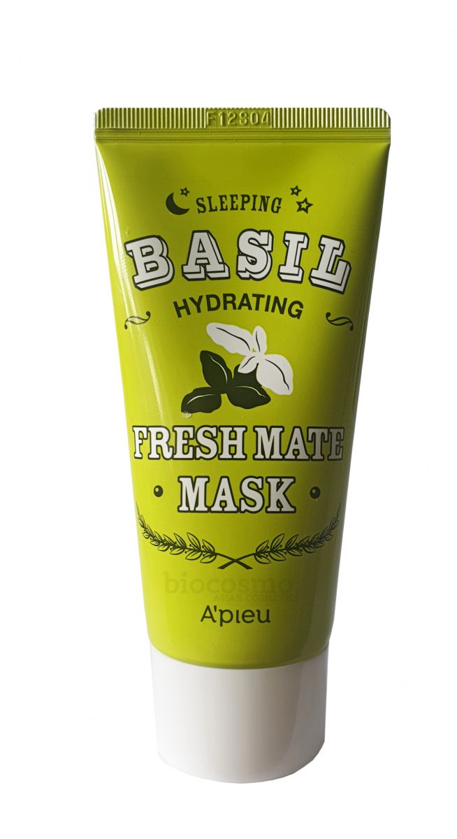 Увлажняющая ночная маска A'PIEU Fresh Mate Basil Hydrating Sleeping Mask - 100 мл