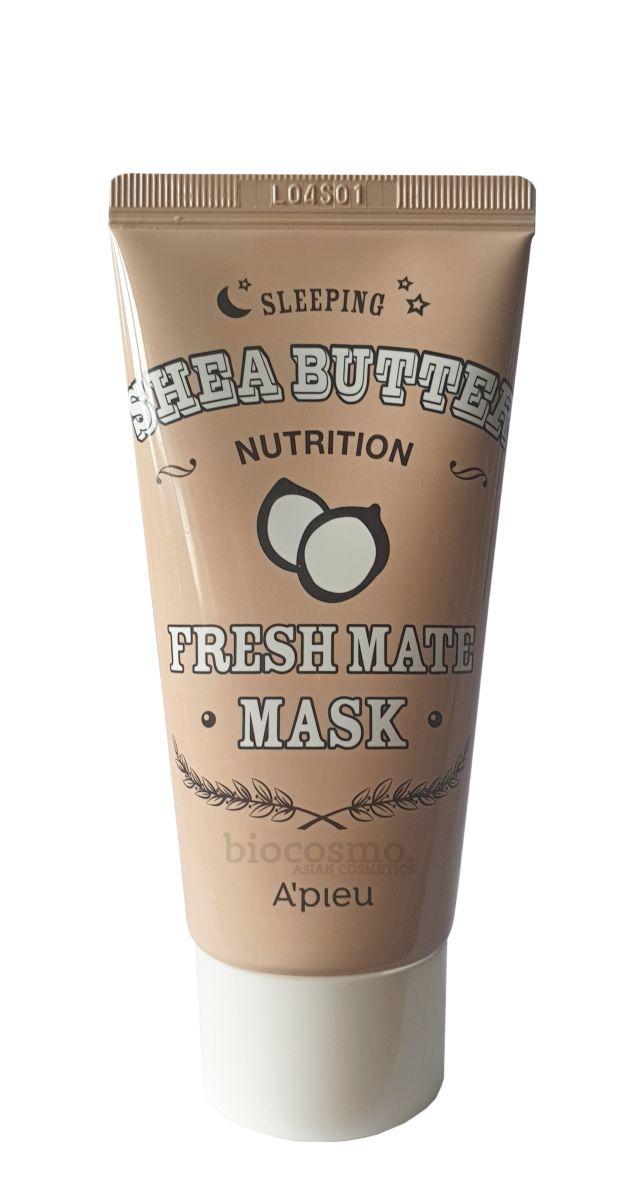 Питательная ночная маска с маслом ши A'PIEU Fresh Mate Shea Butter Mask - 50 гр