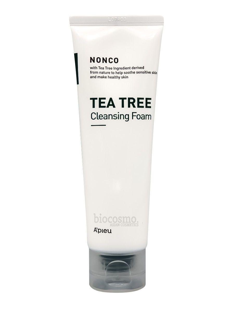 Пенка для проблемной и жирной кожи A'PIEU Nonco Tea Tree Cleansing Foam - 130 мл