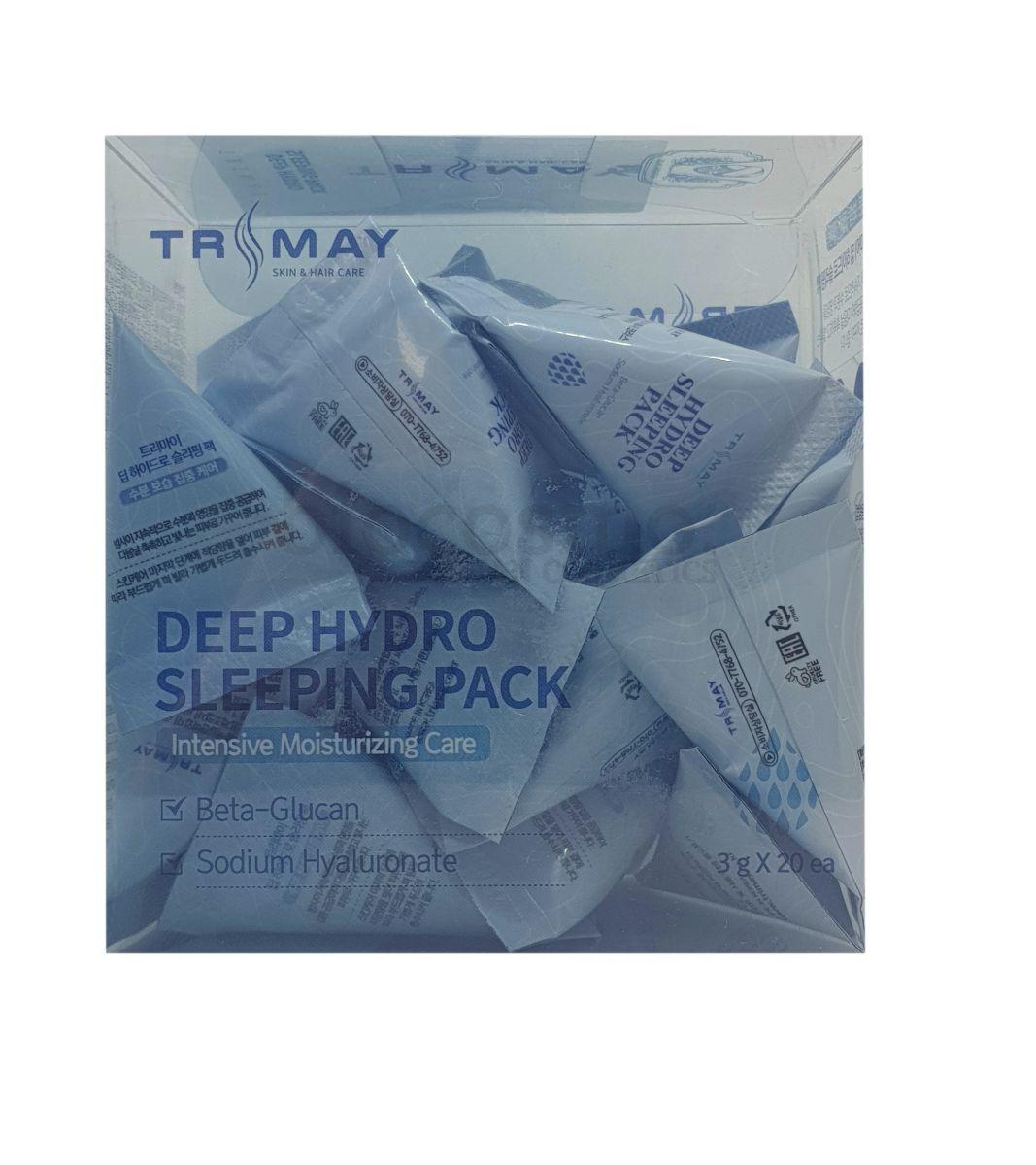 Увлажняющая ночная маска с бета-глюканом Trimay Deep Hydro Sleeping Pack - 3 гр