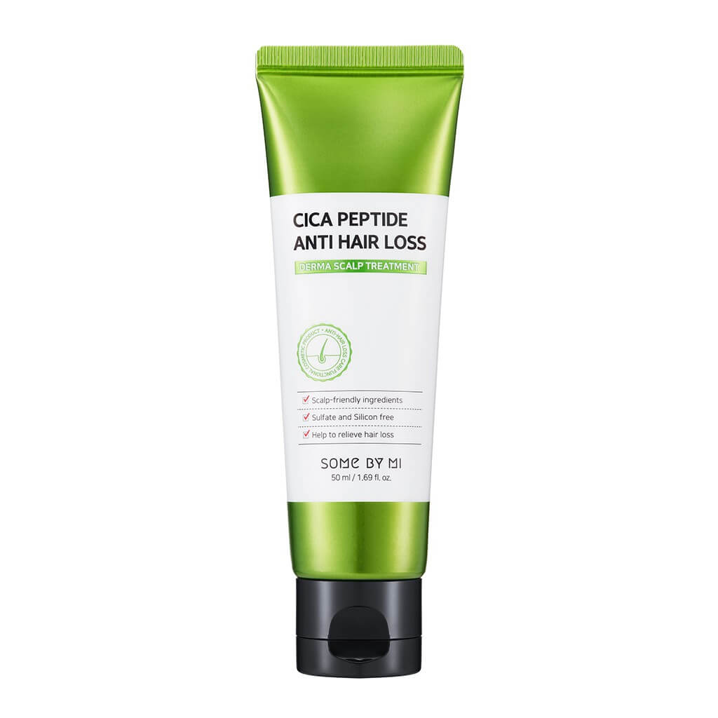 Укрепляющая маска для волос Some By Mi Cica Peptide Anti Hair Loss Treatment - 50 мл