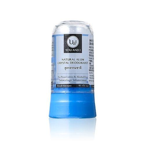 Дезодорант кристалл натуральный You & I Alum Crystal Deodorant Natural - 80 гр