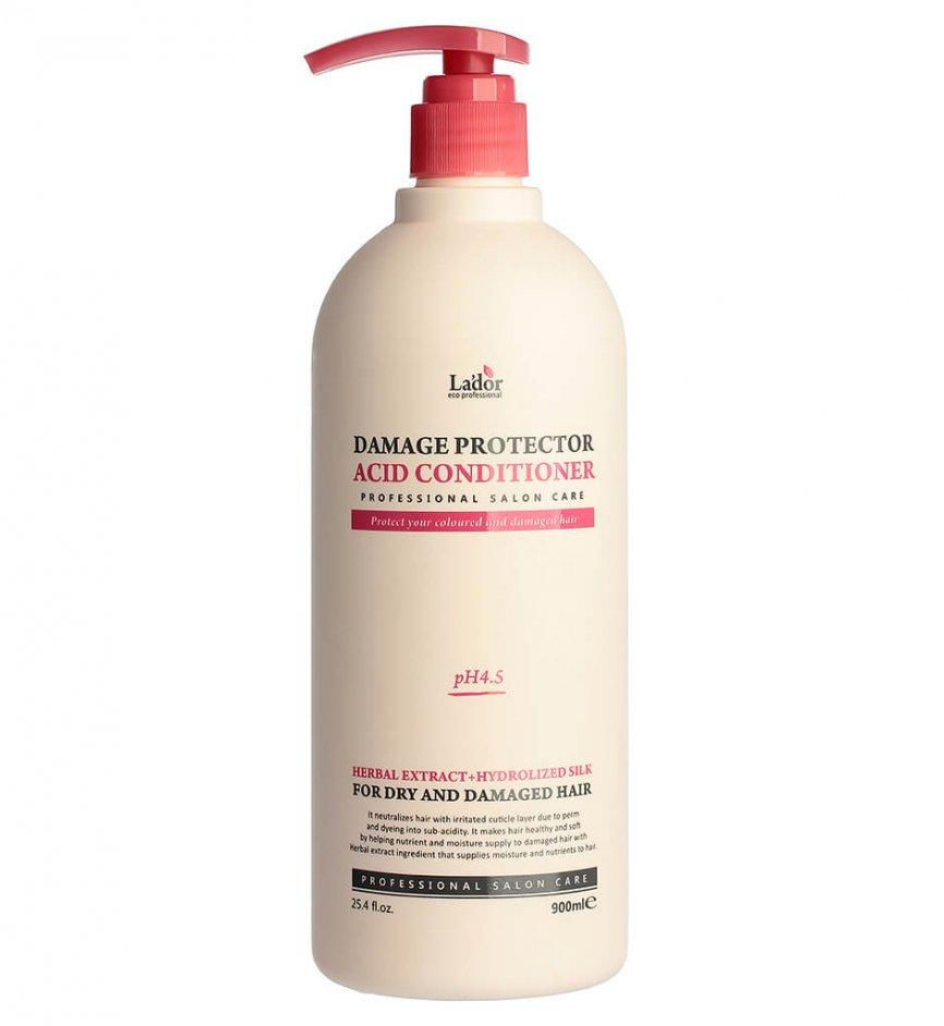 Кондиционер для поврежденных волос Lador Damage Protector Acid Conditioner - 900 мл