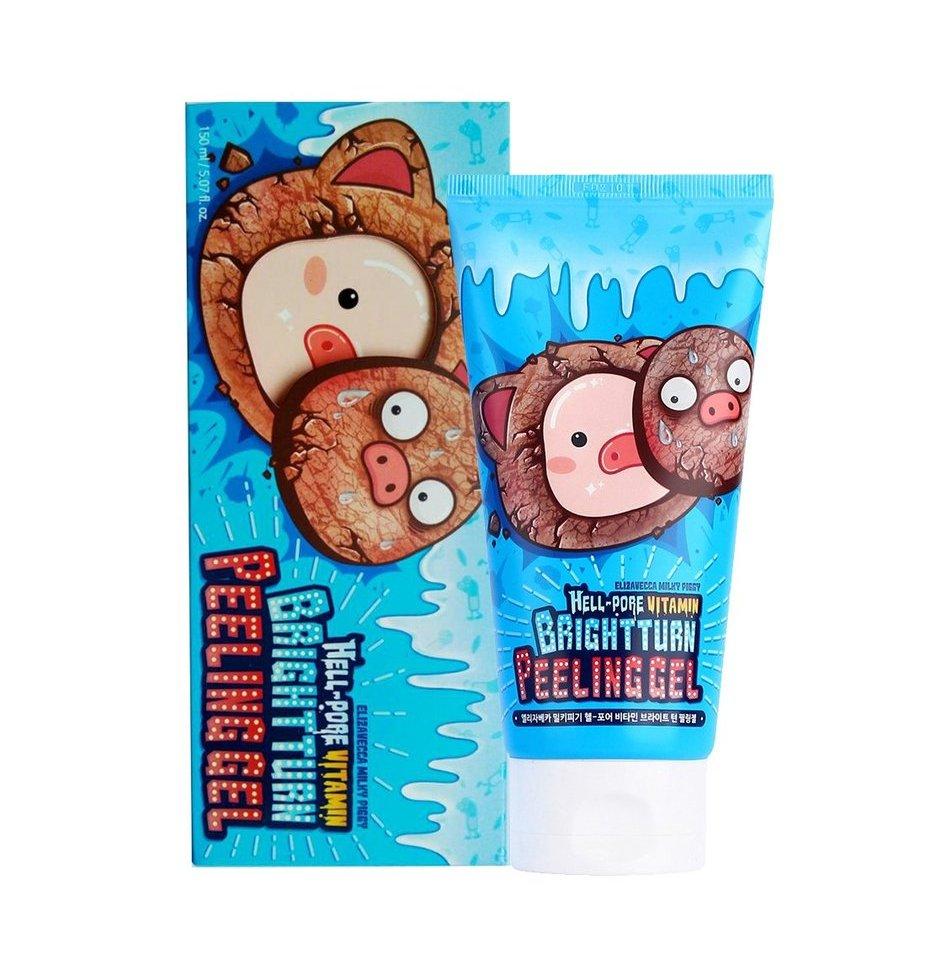 Пилинг-гель для лица Elizavecca Milky Piggy Hell Pore Vitamin Bright Turn Peeling Gel - 150 мл