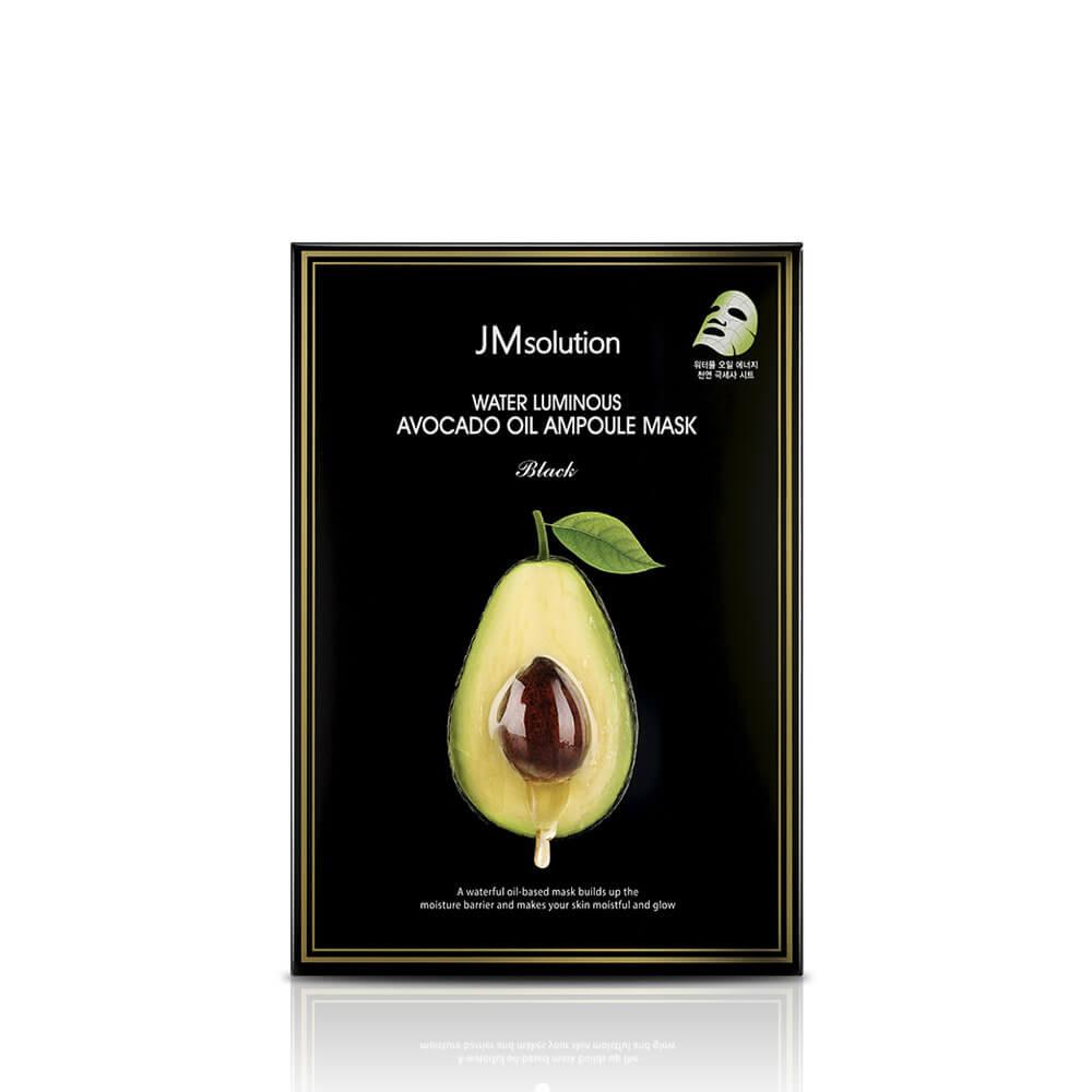 Питательная тканевая маска с авокадо JMsolution Water Luminous Avocado Oil Ampoule Mask - 35 мл