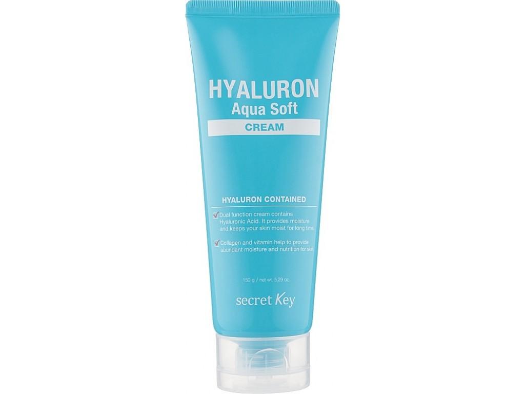 Увлажняющий крем для лица SECRET KEY Hyaluron Aqua Soft Cream - 150 мл