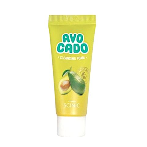 Миниатюра пенки для умывания Scinic Avocado Cleansing Foam - 20 мл
