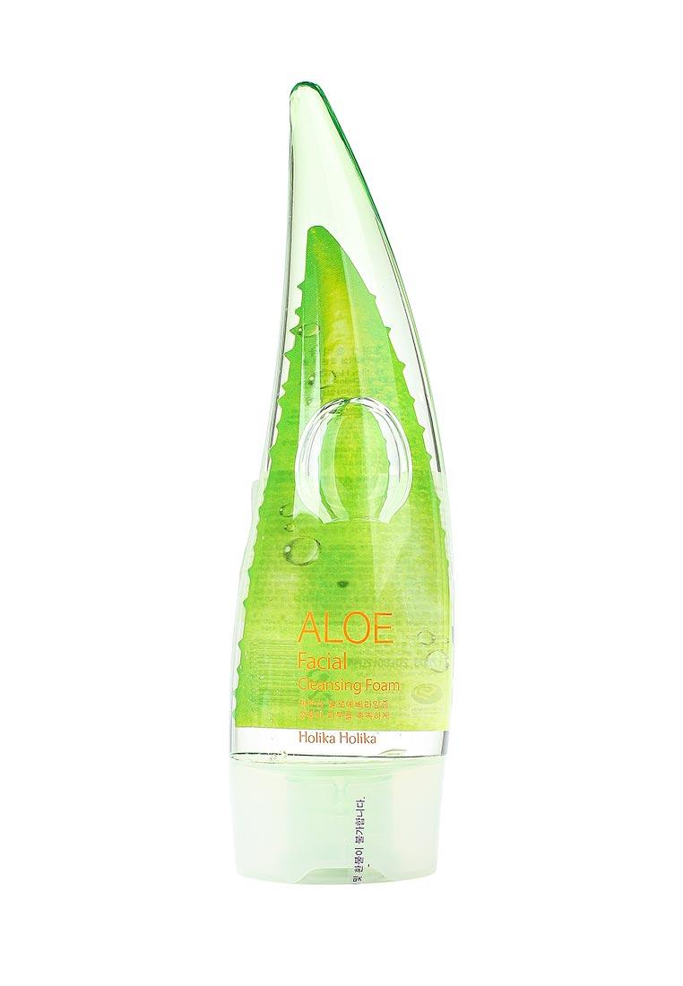 Пенка для умывания с алоэ HOLIKA HOLIKA Aloe Facial Cleansing Foam - 150 мл