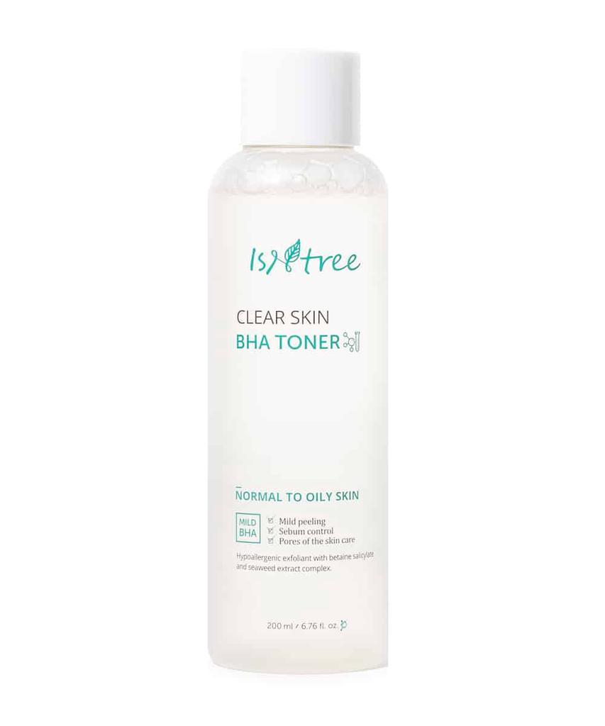 Очищающий тонер с BHA-кислотой IsNtree Clear Skin BHA Toner - 200 мл