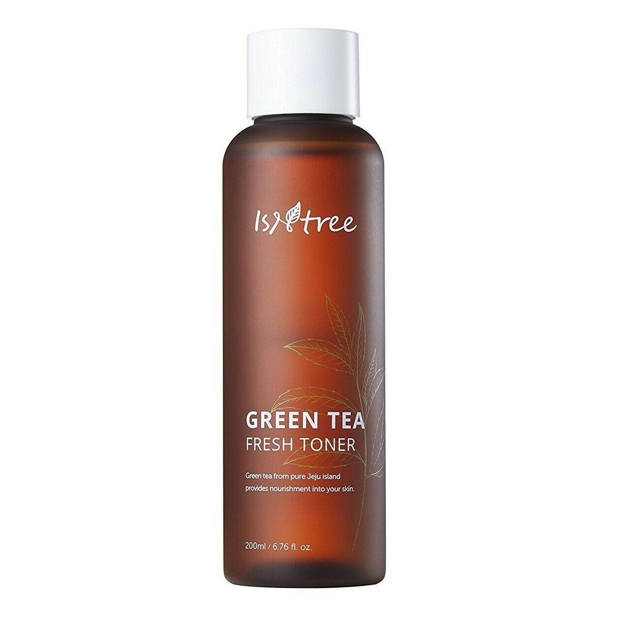 Освежающий тонер c зелёным чаем IsNtree Green Tea Fresh Toner - 200 мл
