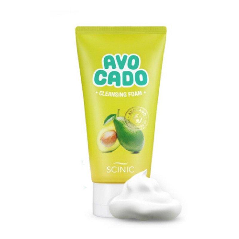 Очищающая пенка для умывания c авокадо Scinic Avocado Cleansing Foam - 150 мл