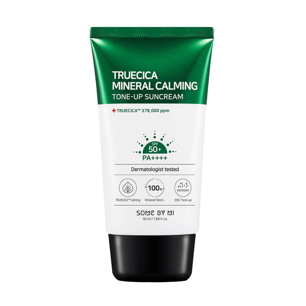 Солнцезащитный крем для выравнивания тона Some By Mi Truecica Mineral Calming Tone-Up Sunscreen 50 PA++++ - 50 гр