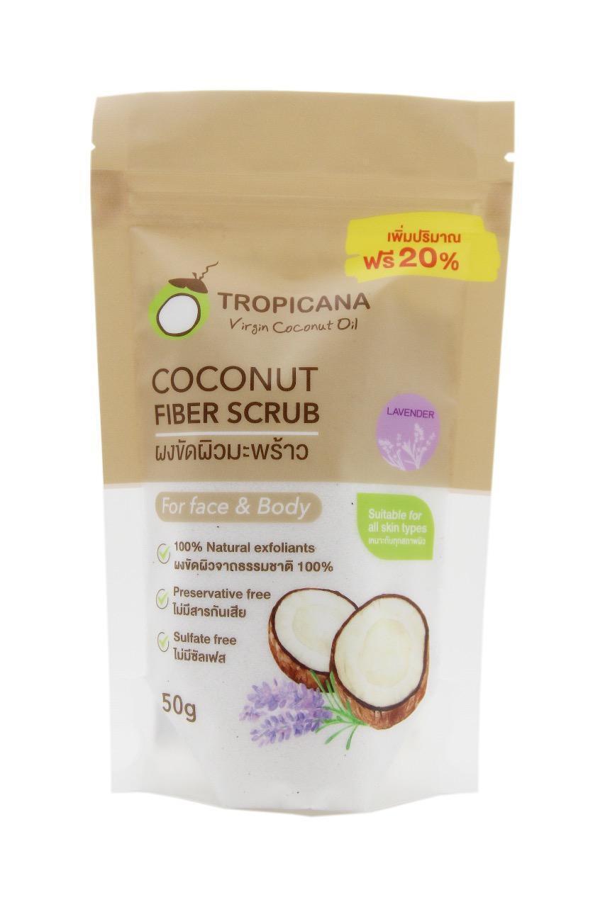 Сухой скраб для тела Tropicana Coconut Fiber Scrub - 50 гр