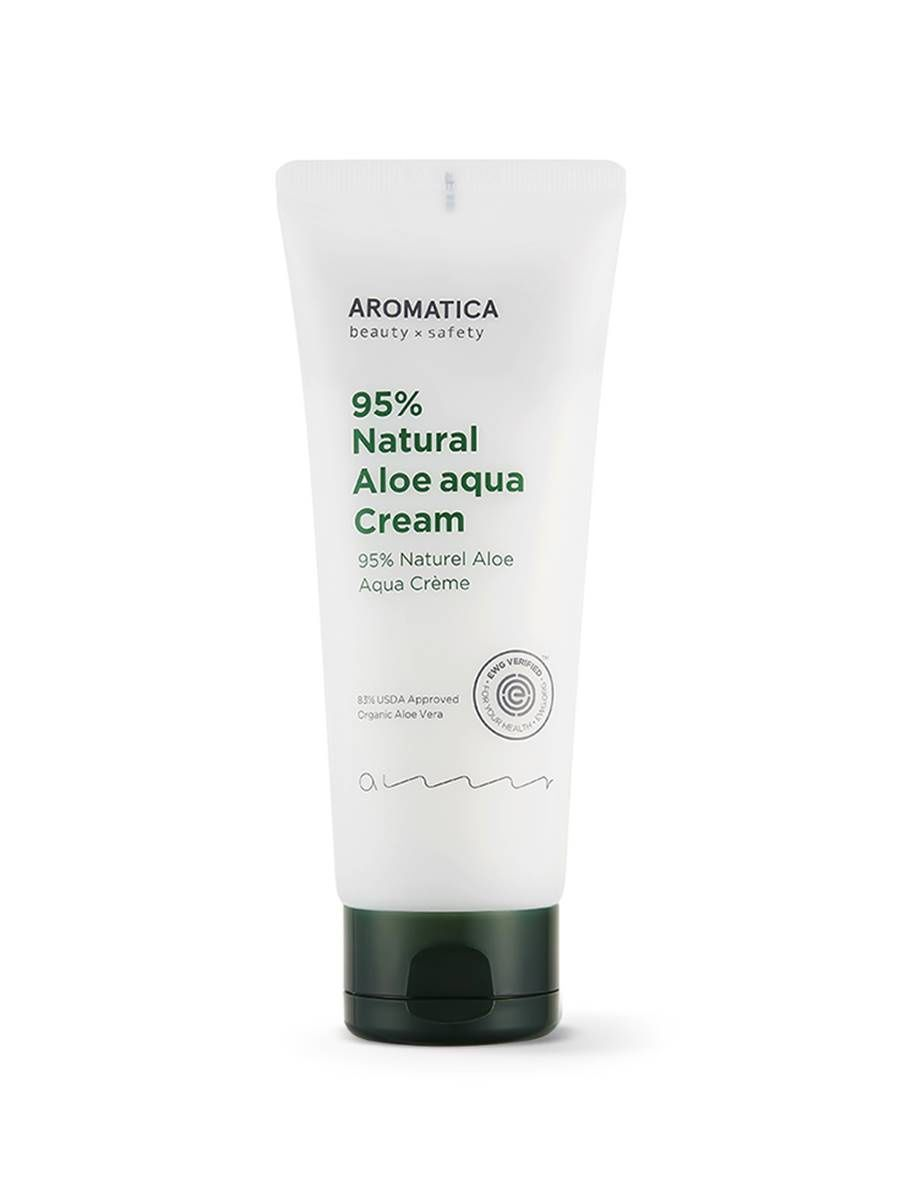 Увлажняющий крем для лица с алоэ AROMATICA 95% Natural Aloe Aqua Cream - 150 мл