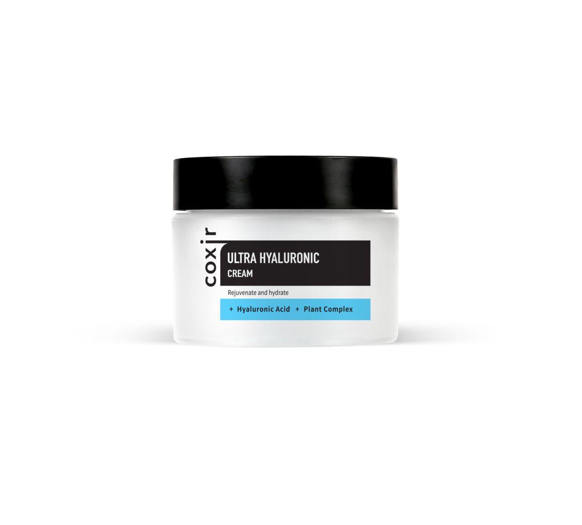 Увлажняющий крем с гиалуроновой кислотой COXIR Ultra Hyaluronic Cream - 50 мл