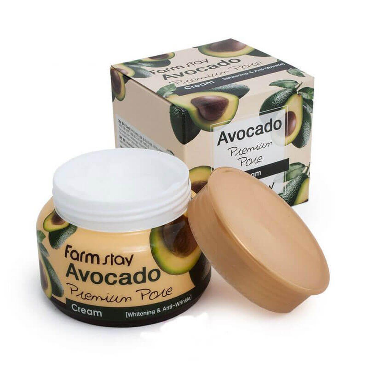 Крем для лица с маслом косточек авокадо FarmStay Avocado Premium Pore Cream - 100 мл