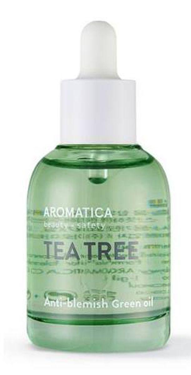 Масло для жирной кожи с чайным деревом Aromatica Tea Tree Green Oil - 30 мл