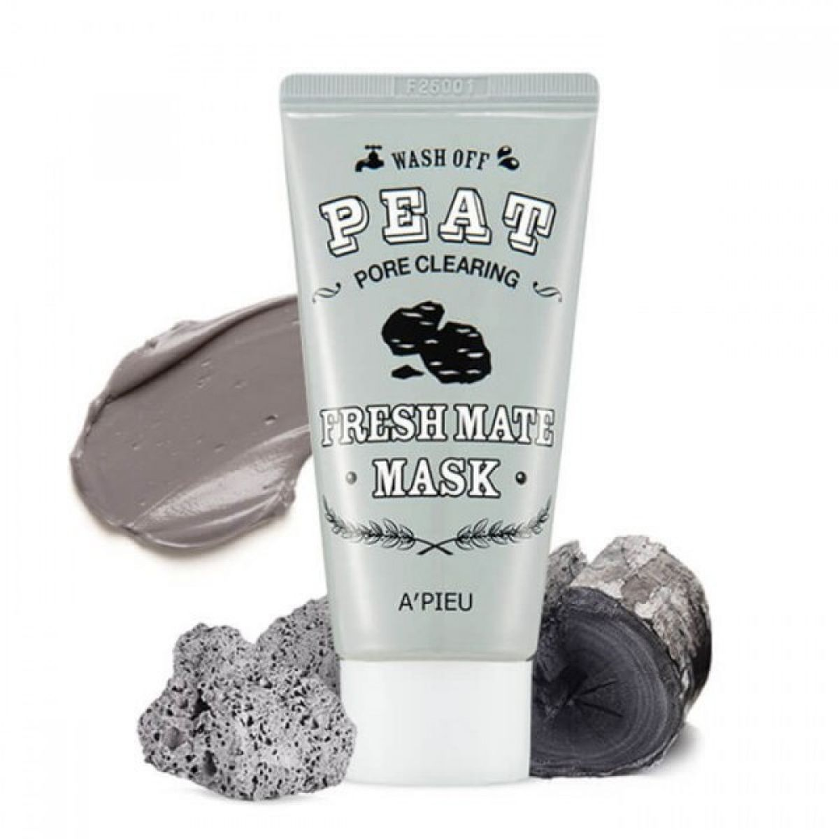 Маска для очищения и сужения пор A'PIEU Fresh Mate Peat Pore Clearing Mask - 50 мл