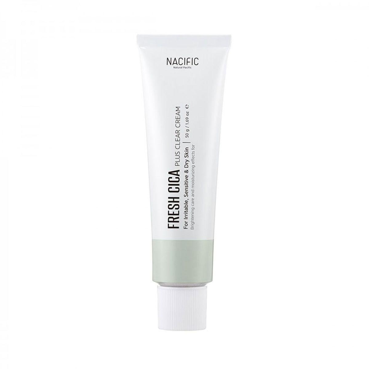 Успокаивающий крем NACIFIC Fresh Cica Plus Clear Cream - 50 мл