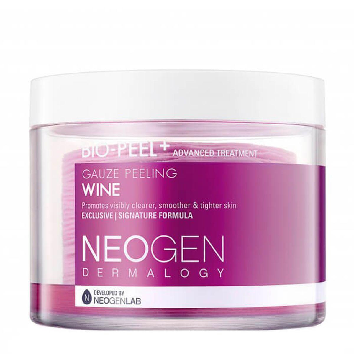 Очищающие пэды с вином Neogen Dermatology Bio-Peel Gauze Peeling Wine - 30 шт