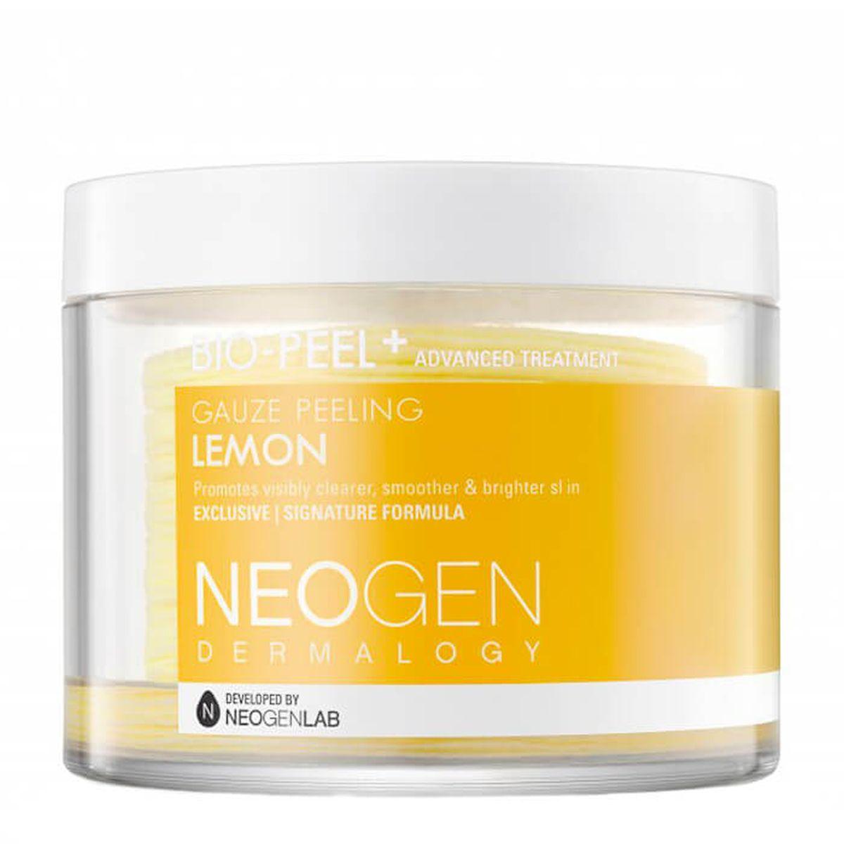 Очищающие пэды с лимоном Neogen Dermalogy Bio-Peel Gauze Peeling Lemon - 30 шт