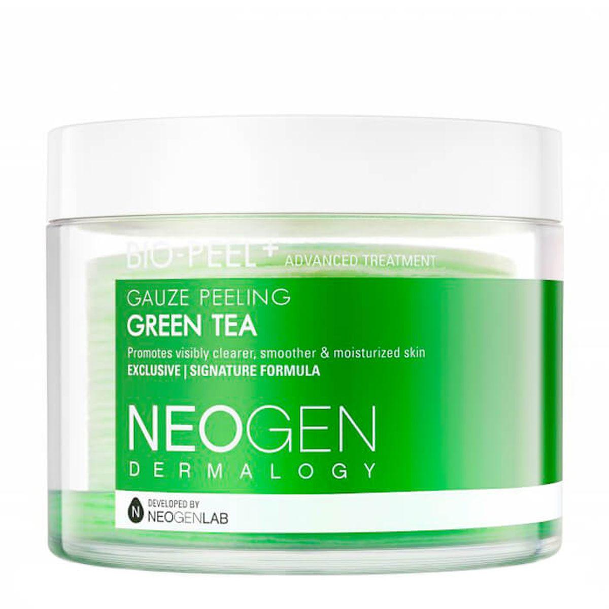 Очищающие пэды с зеленым чаем Neogen Dermatology Bio-Peel Gauze Peeling Green Tea - 30 шт