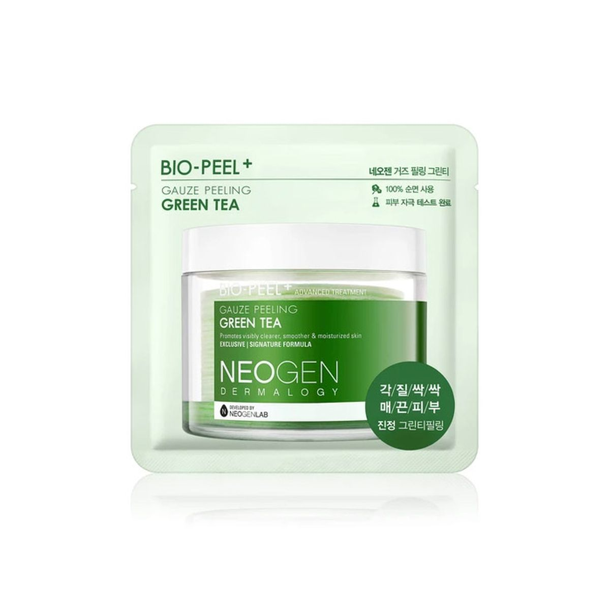 Очищающий пэд с зеленым чаем Neogen Dermatology Bio-Peel Gauze Peeling Green Tea - 1 шт