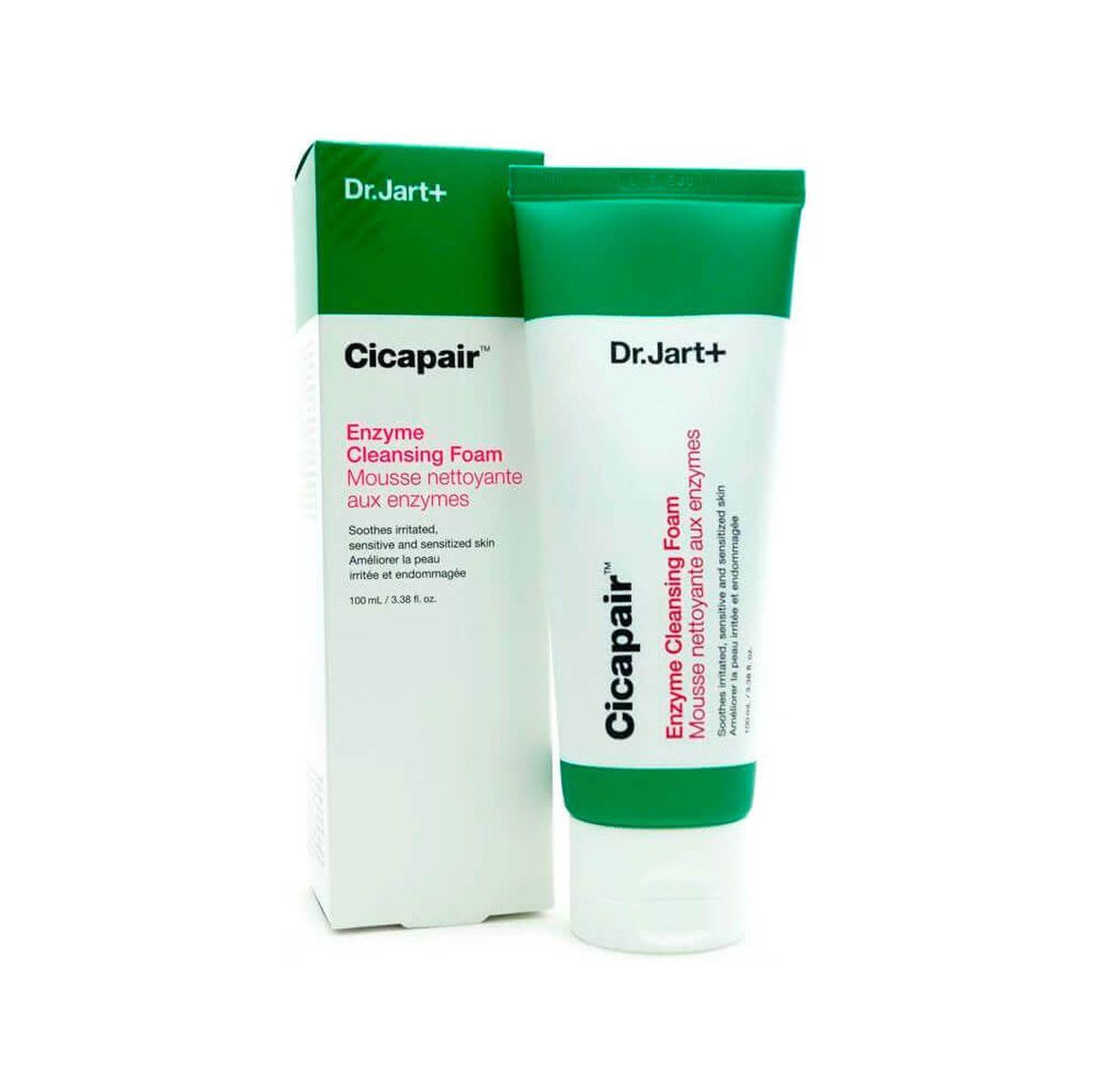 Энзимная пенка для умывания Dr.Jart+ Cicapair Enzyme Cleansing Foam - 100 мл