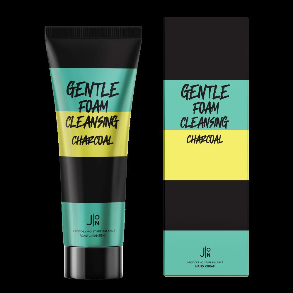 Очищающая пенка с углем J:ON Charcoal Gentle Foam Cleansing - 100 мл