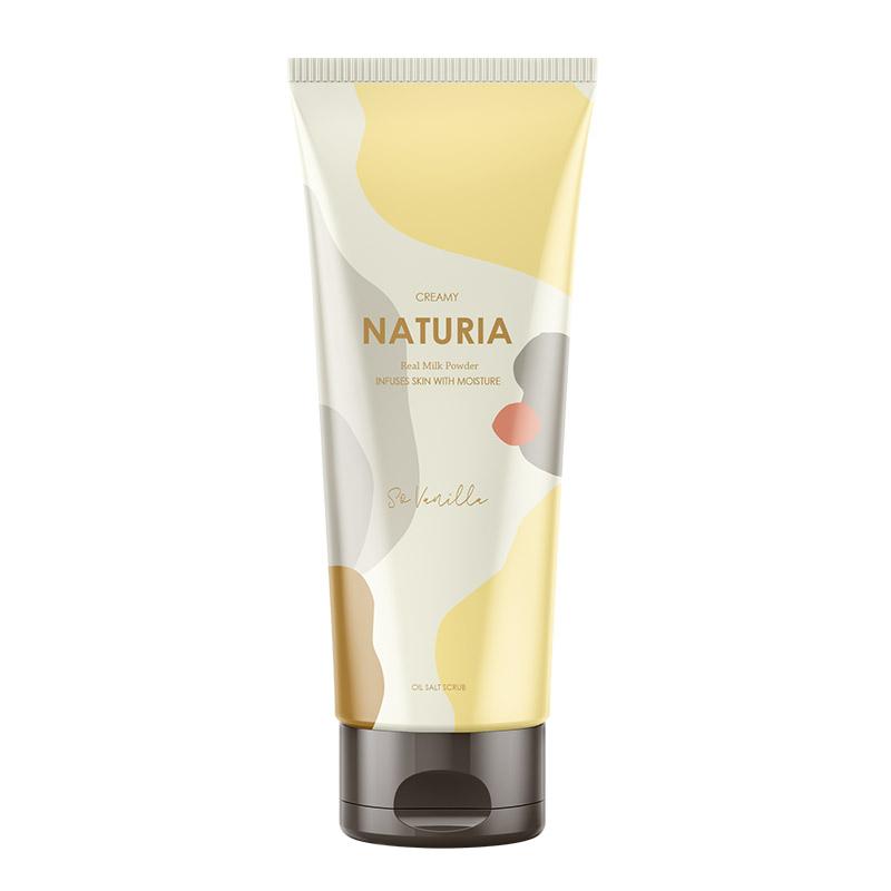 Скраб для тела ваниль EVAS Naturia Creamy Oil Salt Scrub So Vanilla - 250 мл