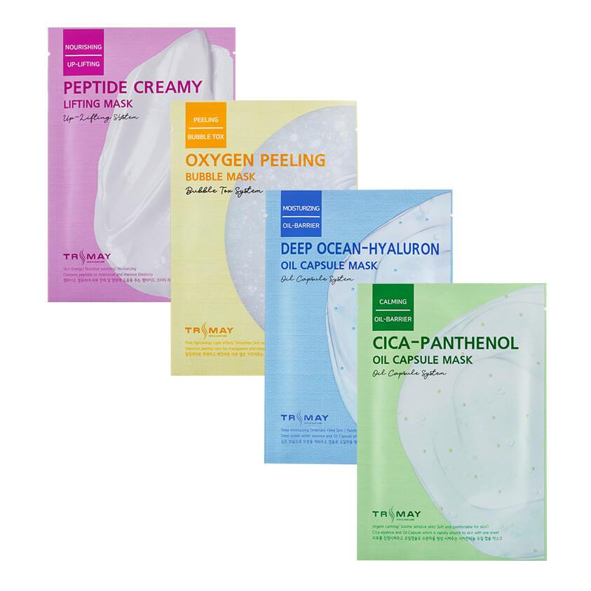 Тканевые маски для быстрого восстановления кожи Trimay Mask - 25 мл