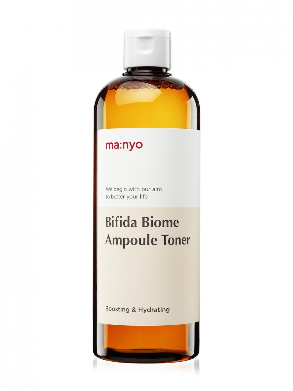 Ампульный укрепляющий тонер с бифидобактериями Manyo Bifida Biome Ampoule Toner - 400 мл