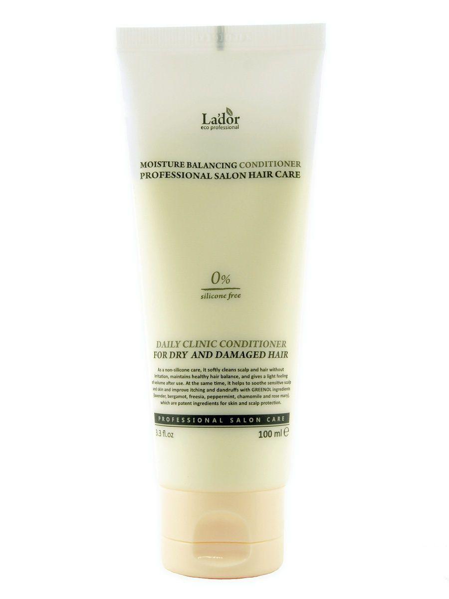 Увлажняющий кондиционер для волос без силиконов Lador Moisture Balancing Conditioner - 100 мл