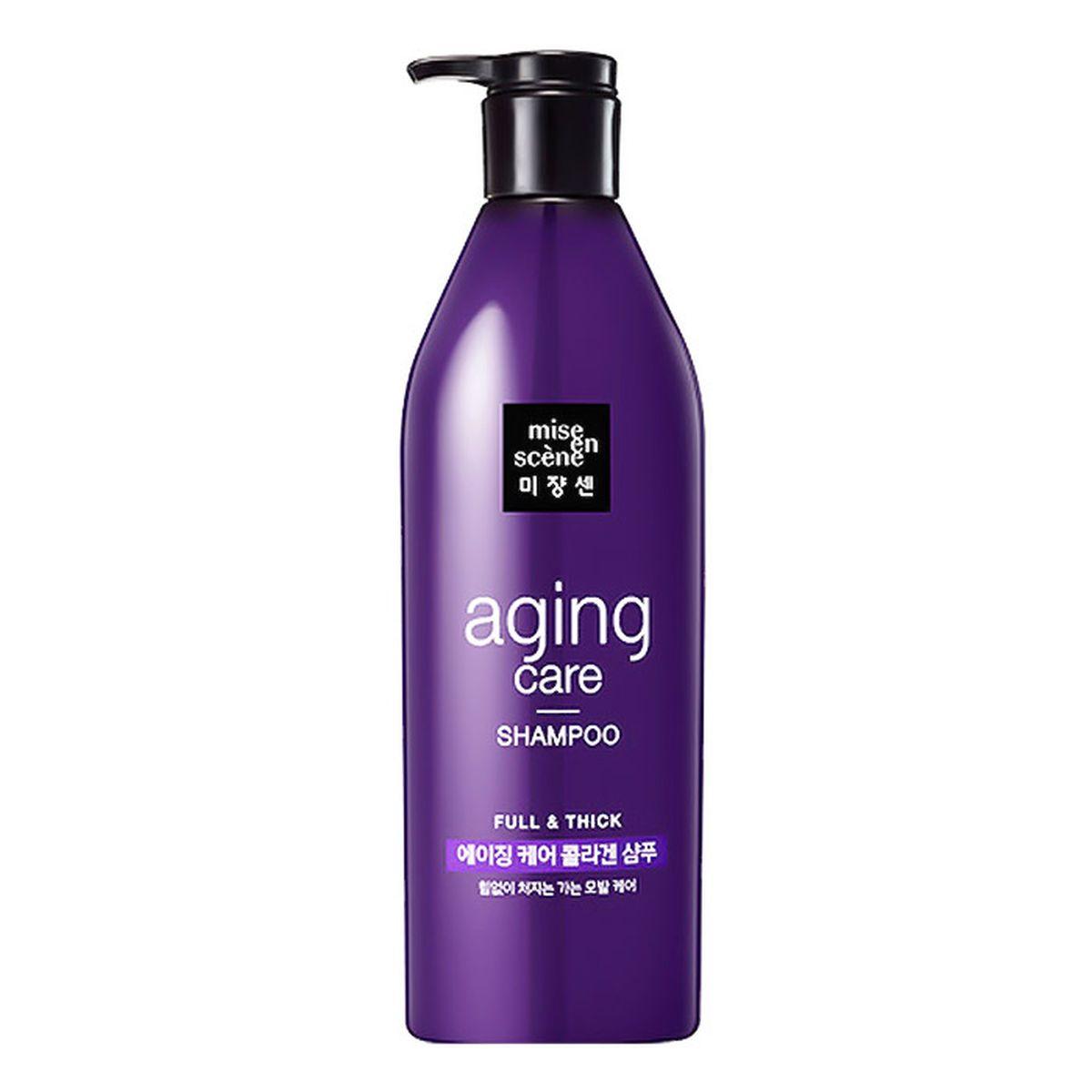 Антивозрастной шампунь для волос Mise en Scene Anti-Aging Full and Thick Shampoo - 680 мл