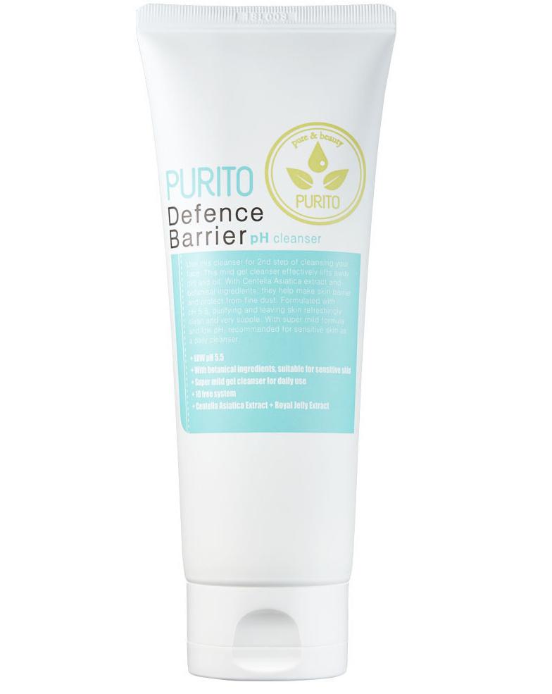 Слабокислотный гель-пенка для очищения кожи PURITO Defence Barrier Ph Cleanser - 150 мл